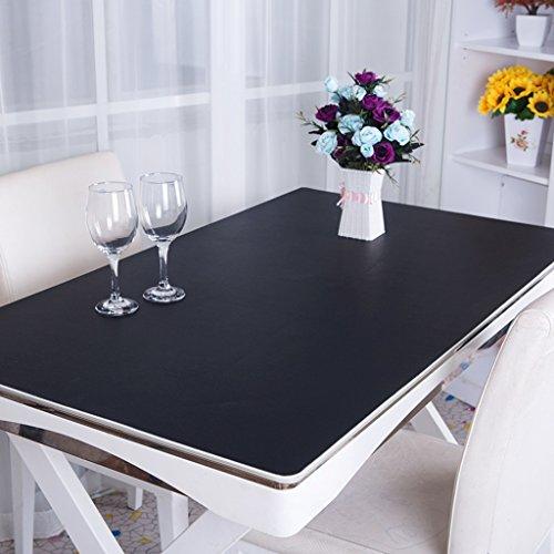Vinyl Glatte Tischsets (Tischdecke PVC Tischdecke, Schreibtischmatten Büro Schreibtisch Matten Computer Tischsets Business Fall Schreibtisch Matten Operator Station 3,5 mm Tischdecke (65 * 140 cm) ( Farbe : C , größe : 65*140cm ))