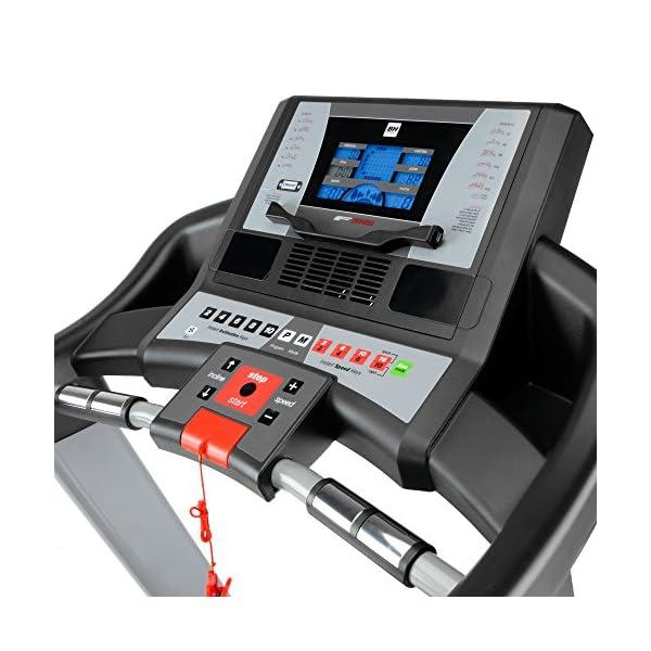 BH Fitness i.ZX7 G6473IRF - Tapis roulant - Elettrico - Pieghevole - Velocità max 18 Km/h - Inclinazione elettrica 12… 2 spesavip