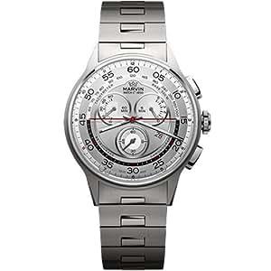 Bn Marvin Men'S M008.14.33.11 Chronograph Stainless Steel Case Bracelet Watch