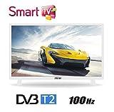 """Akai AKTV3222T 32"""" HD Smart TV Wi-Fi White DVB T/2 - LED TVs (HD, LED, 16:9, 1366 x 768, 100000:1, 1366 x 768 pixels)"""