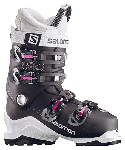 SALOMON Damen Skischuhe X Access 60 W Wide schwarz/Weiss (910) 26