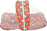 BSB Trendz Baby Bed with Net (Red, Chara...
