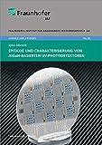Epitaxie und Charakterisierung von AlGaN-basierten UV-Photodetektoren. (Science for systems, Band 28)