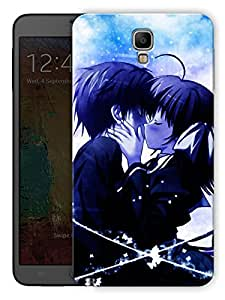 """Humor Gang Emo Couple Kissing Cartoon Printed Designer Mobile Back Cover For """"Samsung Galaxy Note 3"""" (3D, Matte Finish, Premium Quality, Protective Snap On Slim Hard Phone Case, Multi Color)"""