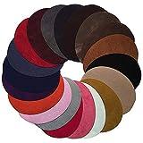 Anjing Lot DE 20Couleurs Assorties Ovale Patch Iron on Patchs Cuir Tissu pour vêtements réparation kit de Couture