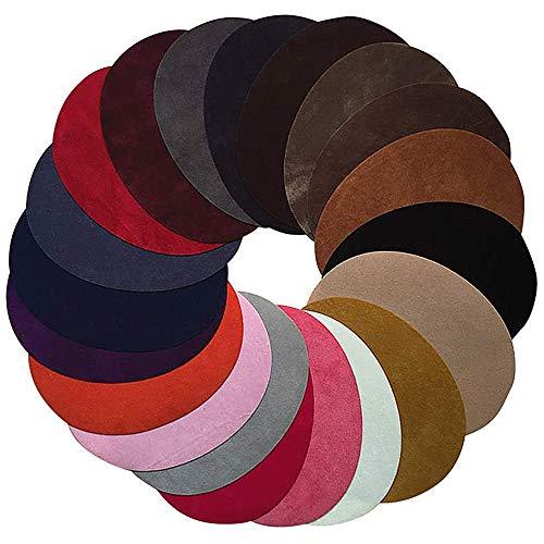Anjing 20 Parches ovalados de Colores Surtidos para Planchar...