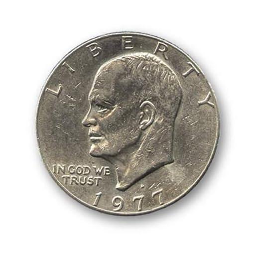 Eisenhower-Dollar-Single-Coin-Ungimmicked-Magie-mit-Tuch-Zaubertricks-und-Magie