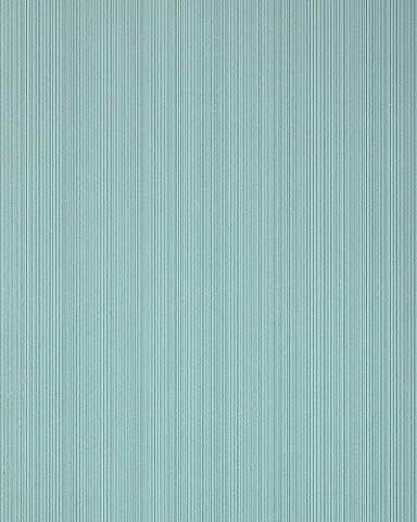 Streifen-Tapete EDEM 557-15 Schaumvinyltapete strukturiert in Textiloptik matt petrol pastell-türkis mint-türkis 5,33