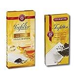 Teekanne Teefilter 2er Pack - für Kannen bis 1 Liter und 2,5 Liter (2 x 80 Beutel)