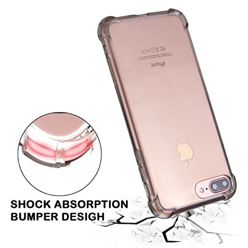 iPhone 6 Case, SICAS ( TM ) Apple iPhone 6 Crystal Clear Shock Absorption Technology Bumper Soft TPU Cover Case for iPhone 6 4. 7 Inch - Pink Pink