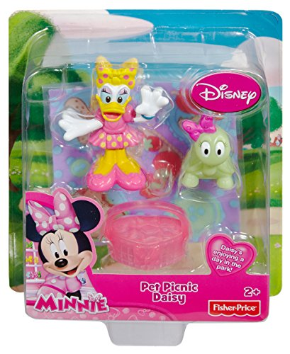 Fisher-Price Minnie Mouse Pets Picnic Daisy Duck