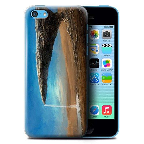 Offiziell Chris Cold Hülle / Case für Apple iPhone 5C / Exoplanet Muster / Galaktische Welt Kollektion Exoplanet
