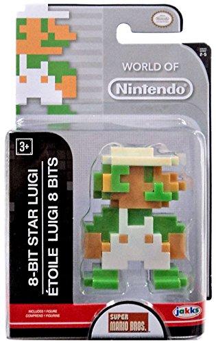 World of Nintendo 8-Bit Star Luigi Figur ca 6 cm