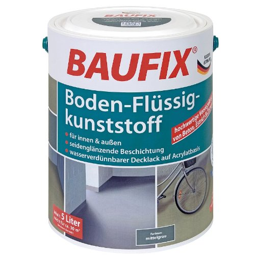 BAUFIX Boden-Flüssigkunststoff hellgrau