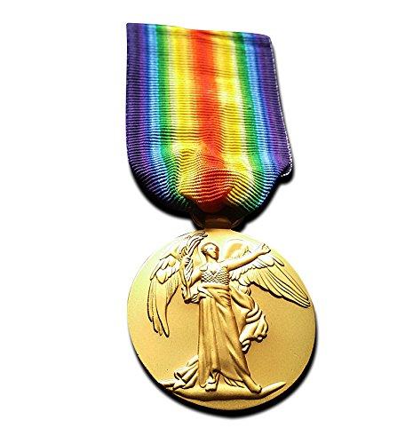 Militär Medaille der Große Krieg für die Zivilisation 1914-1919 Sieg Medaille militärische Auszeichnung WW1 British Replik