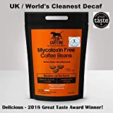 World's Cleanest Bulletproof Coffee Decaf / Decaffeinated Beans | Pesticide & Mycotoxin Free + Swiss Water Decaf | Paleo & Decadent | Good as Organic Beans Decaf - 227g