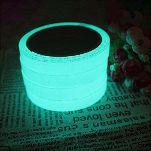 Sunsline Glow In The Dark Leuchtendes Fluoreszierende Klebstoff Sicherheitsaufkleber (#2) (Dunkel Blau Gewinnt)