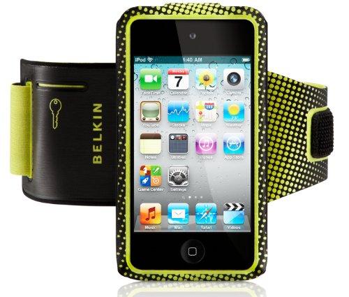 Belkin Profit Sportarmband (geeignet für Apple iPod Touch 4G/5G) schwarz/gelb