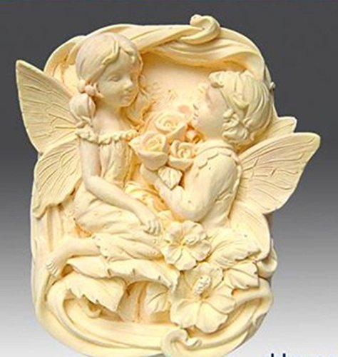 LC Winkel Love N204Form Craft Art Silikon Seife Form Craft DIY, Seifengießform Kerze handgefertigt (Silikon-formenbau-gummi)