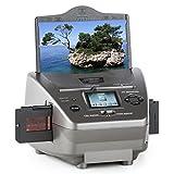oneConcept 979GY Combo Film-Foto-Scanner Multi-Scanner 14 MP CMOS-Sensor für Dias