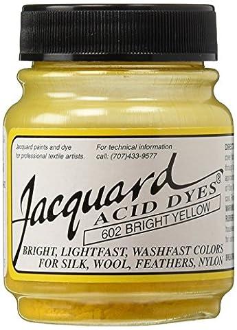 Jacquard Products Brt Yellow-Jacquard Acid Dyes, Acrylic, Multicolour