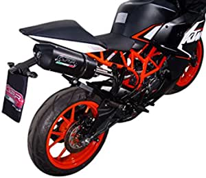 Gpr Italy Terminal Certified And Katalysiert With Special Connection Ktm Rc 125 2014 16 Position High And Includes The Dress Original Filetta The Deck Cover For Construction Auto
