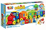 #7: Saffire My First Counting Train Building Blocks , Multi Color (45 Count)