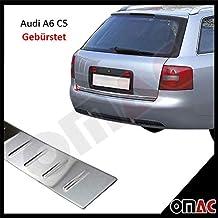 LADEKANTENSCHUTZ Lackschutzfolie für AUDI A6 Avant C6 4F ab 2005 schwarz matt
