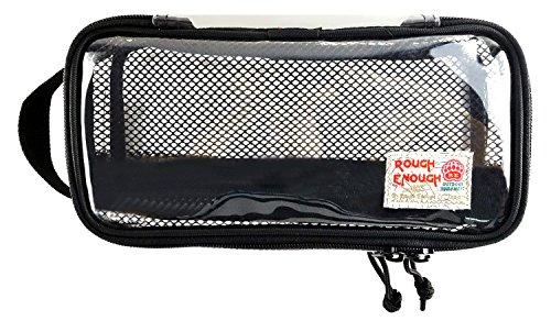 rough-enough-tsa-eco-clear-transparent-multi-purpose-toiletry-tool-classify-bag-black
