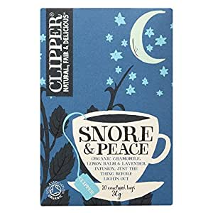 Clipper Snore and Peace, 20 x 30g Tea Bags