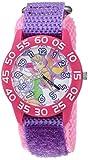 Disney Girl's 'Tinker Bell' Quartz Plastic and Nylon Casual Watch Color:Purple (Model: WDS000108)