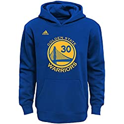 Stephen Curry Golden State Warriors # 30 de la NBA juventud nombre & número forro polar sudadera con capucha, Royal