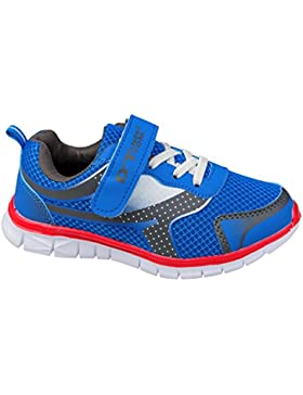 GIBRA® Kinder Sportschuhe, mit Klettverschluss, blau, Gr. 28-35