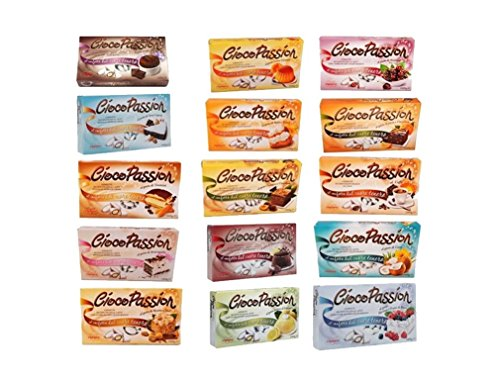 10 Kg (TOT 10 CONFEZIONI) di Confetti Crispo Ciocopassion a vostra scelta !. Confetti di cioccolato al latte con cuore di cioccolato bianco , ripieni di morbida crema ai vari gusti. Perfetti per ogni occasione! VASTO ASSORTIMENTO DI GUSTI: Gusti asso...
