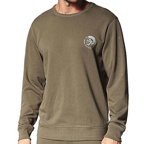 Diesel Willy Crew Neck Sweatshirt Khaki XX-Large