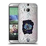Head Case Designs Fische Sternbild Der Sternzeichen Soft Gel Hülle für HTC One M8 / M8 Dual SIM