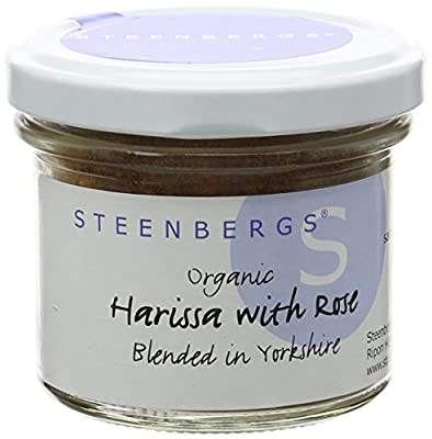 Steenbergs Organic Harissa with Rose 43 g (Pack of 3)