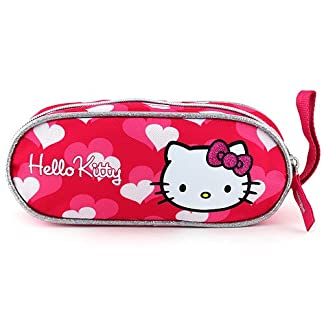 Target Hello Kitty Mini Pencil Case Estuches, 23 cm, Rosa (Pink)