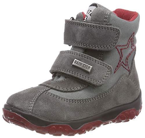 Naturino Baby Jungen Freestyle Stiefel, Grau (Antracite 0b01), 24 EU -