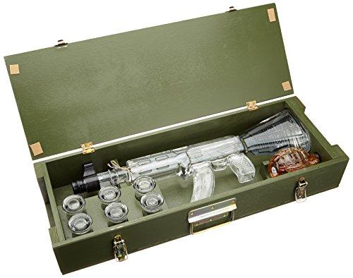 Vodka Red Army Kalashnikov e granate con liquore alle erbe