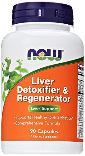 Now Foods, Leber detoxifier & Regenerator, 90 Kapseln