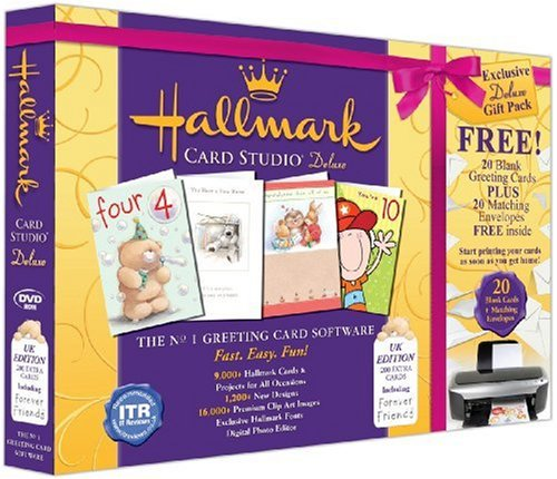 Hallmark Card Studio Deluxe Gift Pack (PC DVD)