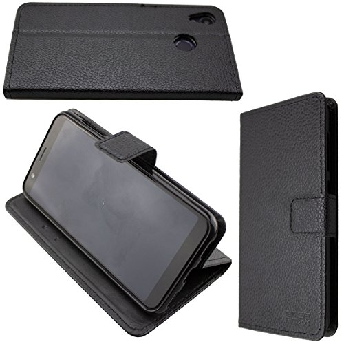 caseroxx Hülle/Tasche Bookstyle-Case Gigaset GS185 Handy-Tasche, Wallet-Case Klapptasche in schwarz