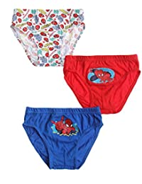 Spiderman Slips (lote de 3) Azul