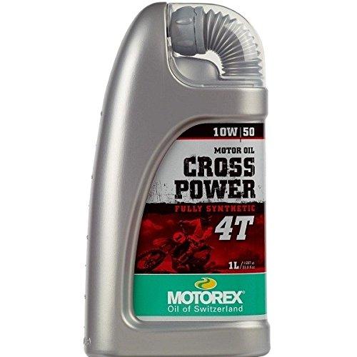OLIO MOTORE MOTOREX CROSS POWER 4T 10W50 100% SYNTHETI