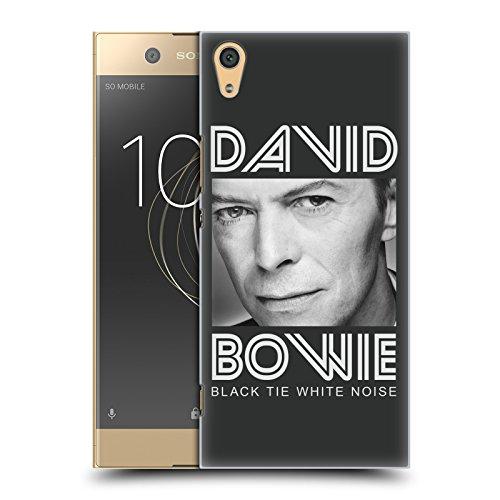 Head Case Designs Offizielle David Bowie Black Tie Kunst Der Alben Ruckseite Hülle für Sony Xperia XA1 Ultra/Dual