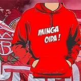 World of Football Bayern Kapuzenpulli Minga Oida - L