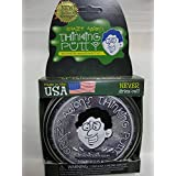 "Quicksilver With Magnet Magnetic Crazy Aaron's Thinking Putty New Lg 4"" Tin 3.2 OZ"