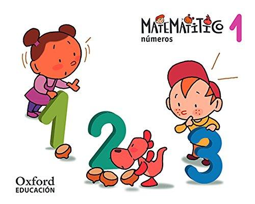 Números 3 años. Matematítico. Cuaderno 1 - 9788467381313