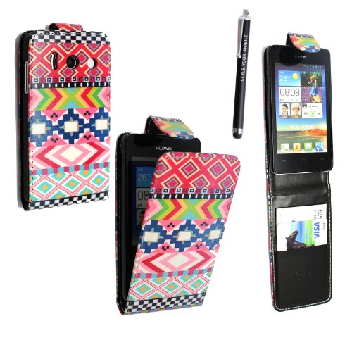 styleyourmobile-huawei-ascend-y300-premium-quality-pu-leather-magnetic-flip-case-skin-cover-pouch-fr